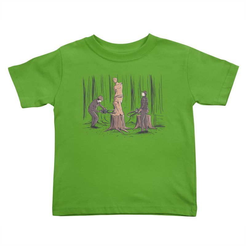 Masterpiece Kids Toddler T-Shirt by Flying Mouse365