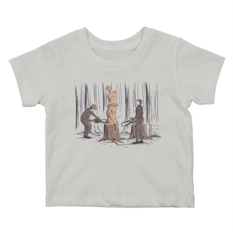 Masterpiece Kids Baby T-Shirt by Flying Mouse365