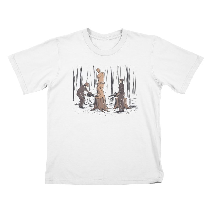 Masterpiece Kids T-Shirt by Flying Mouse365
