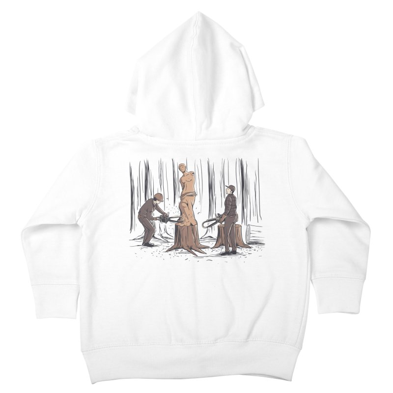 Masterpiece Kids Toddler Zip-Up Hoody by Flying Mouse365