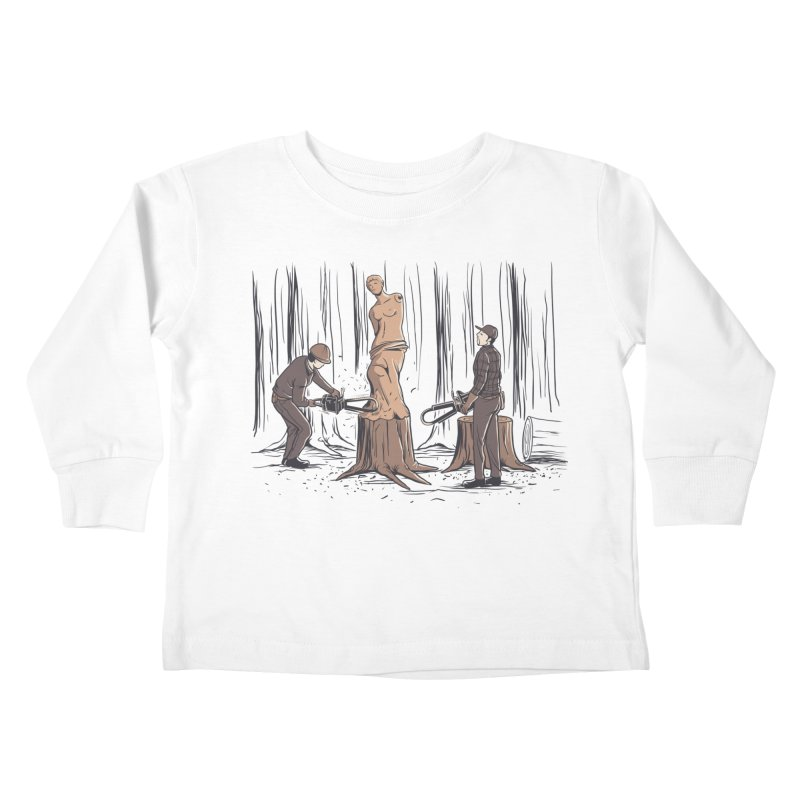 Masterpiece Kids Toddler Longsleeve T-Shirt by Flying Mouse365