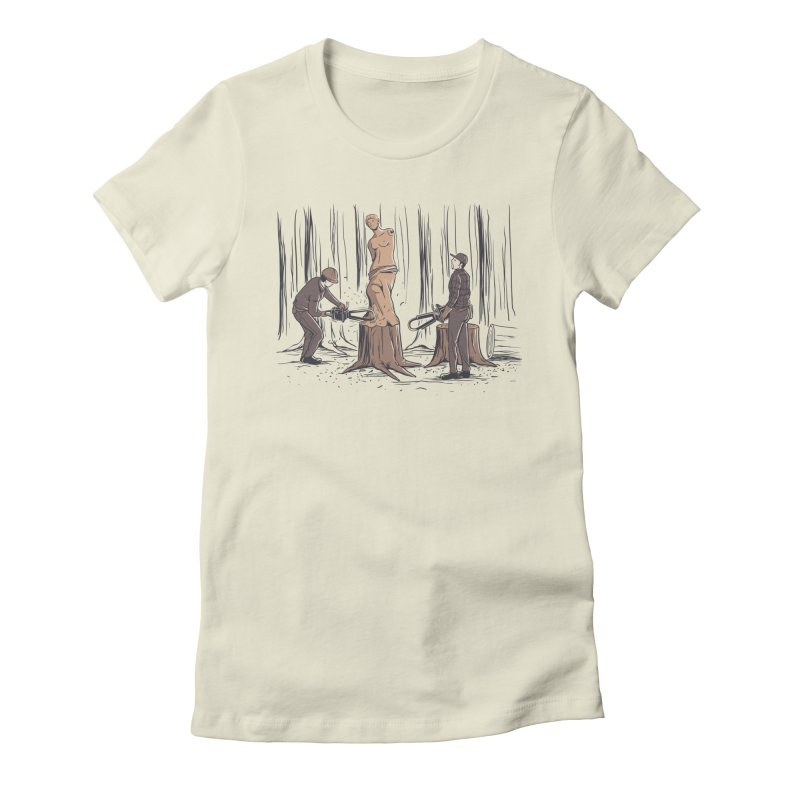Masterpiece Women's T-Shirt by Flying Mouse365