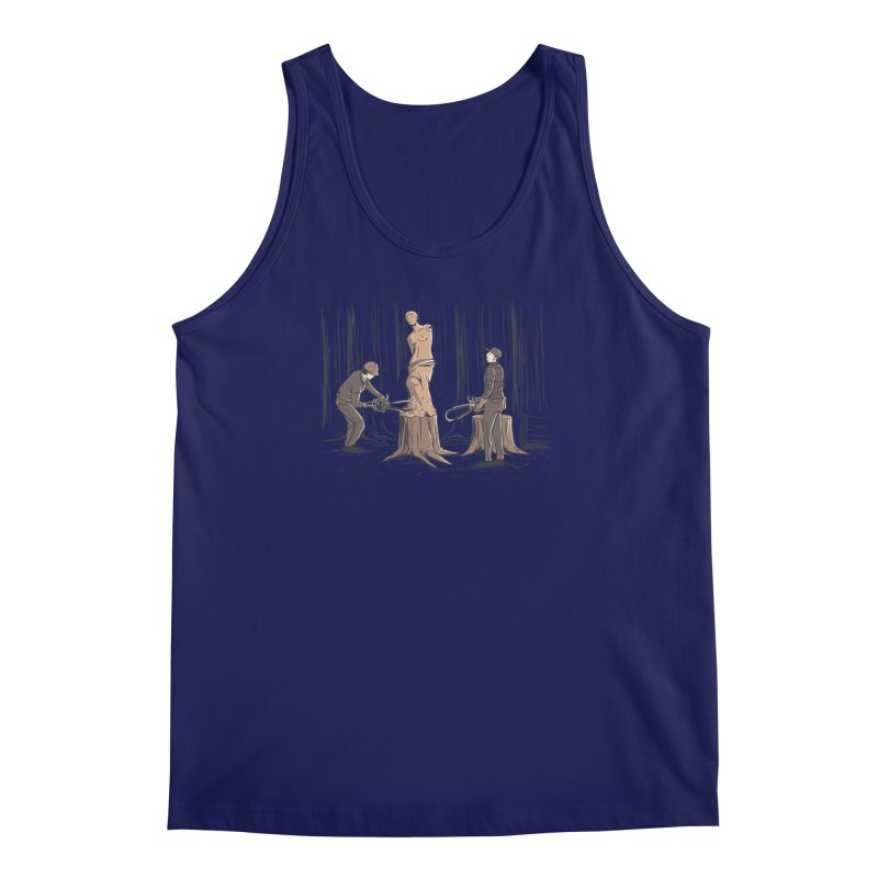 Masterpiece Men's Regular Tank by Flying Mouse365