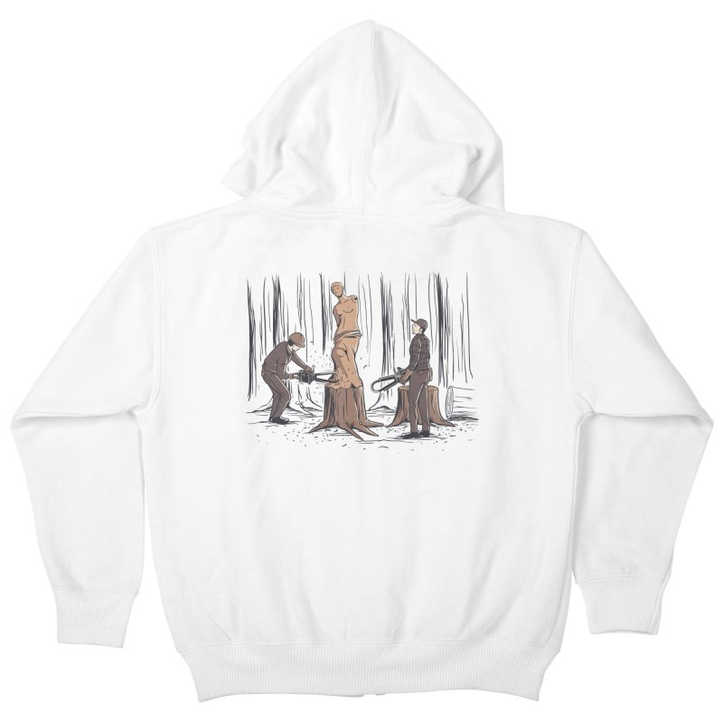 Masterpiece Kids Zip-Up Hoody by Flying Mouse365