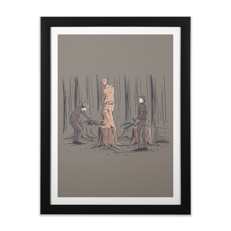 Masterpiece Home Framed Fine Art Print by Flying Mouse365
