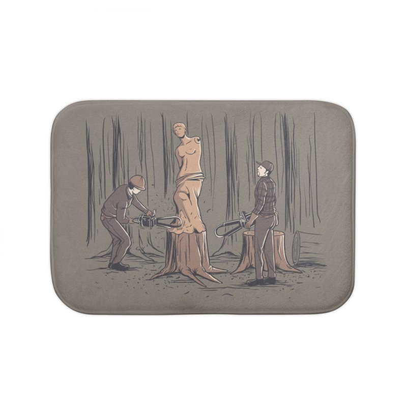 Masterpiece Home Bath Mat by Flying Mouse365