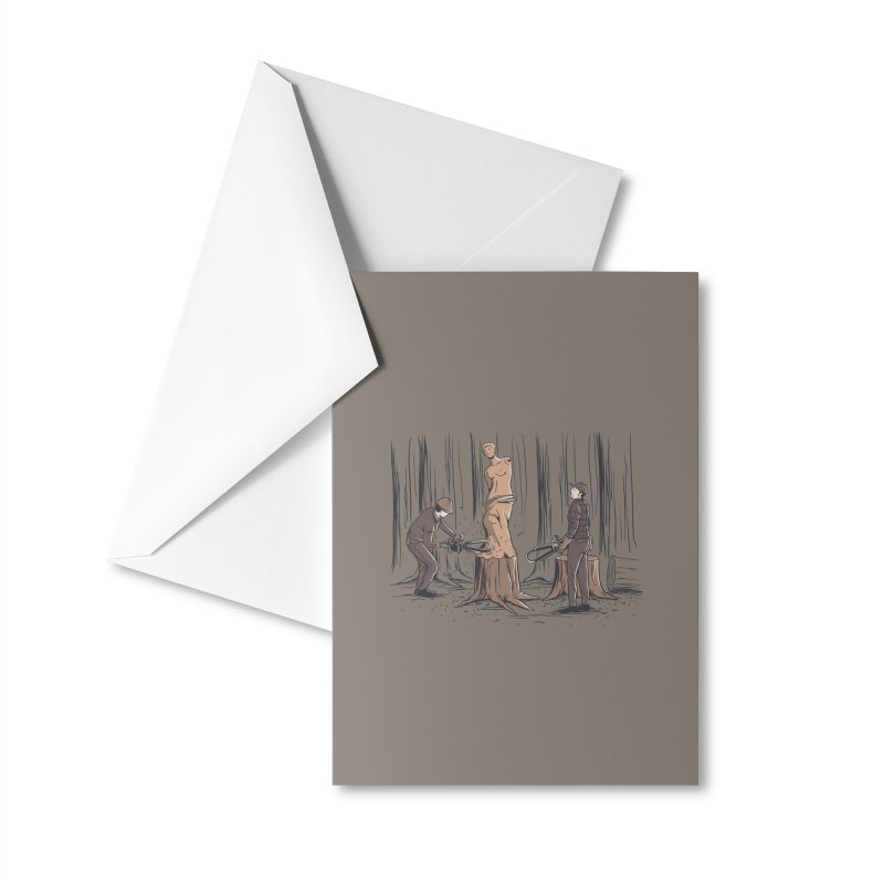 Masterpiece Accessories Greeting Card by Flying Mouse365