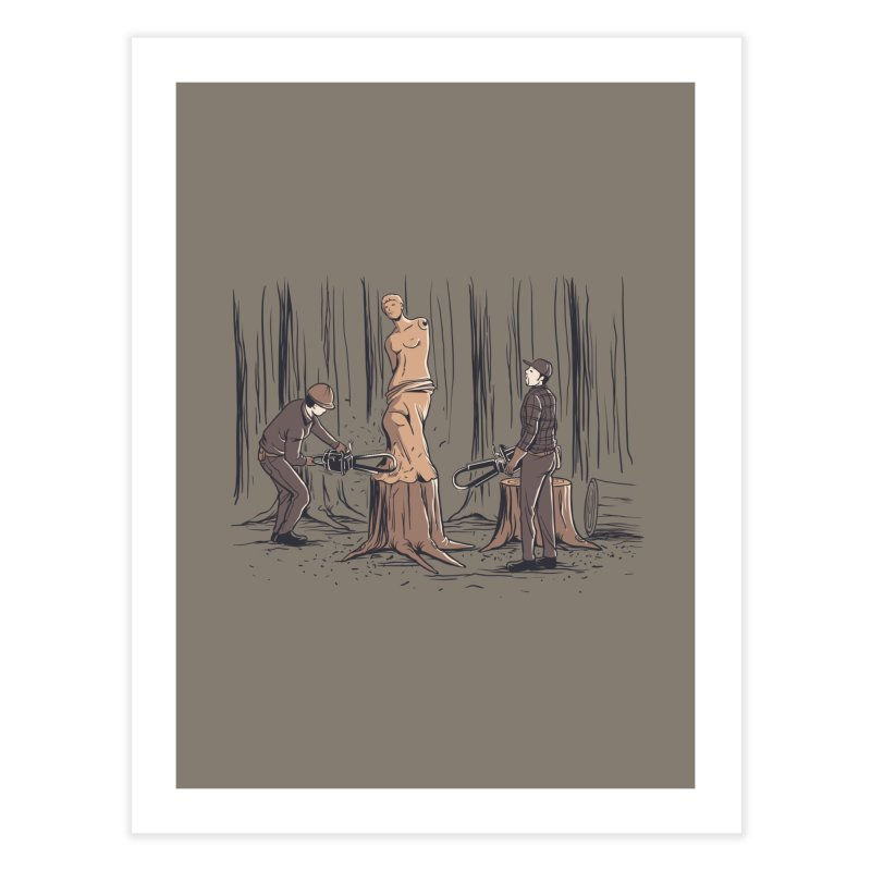 Masterpiece Home Fine Art Print by Flying Mouse365