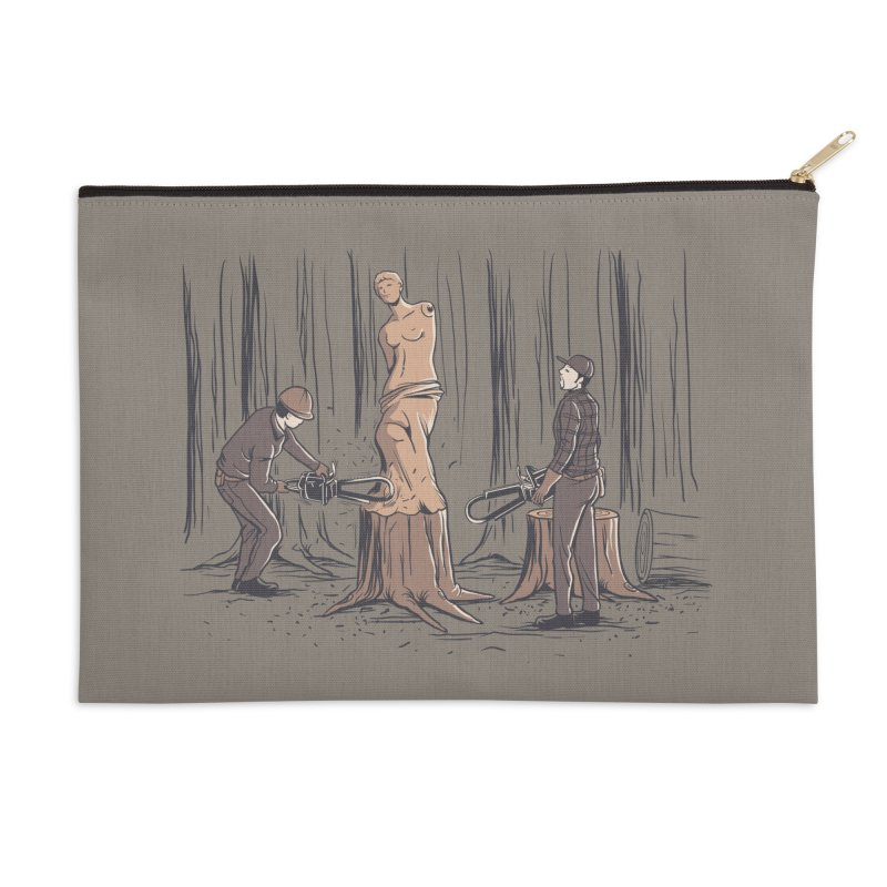 Masterpiece Accessories Zip Pouch by Flying Mouse365