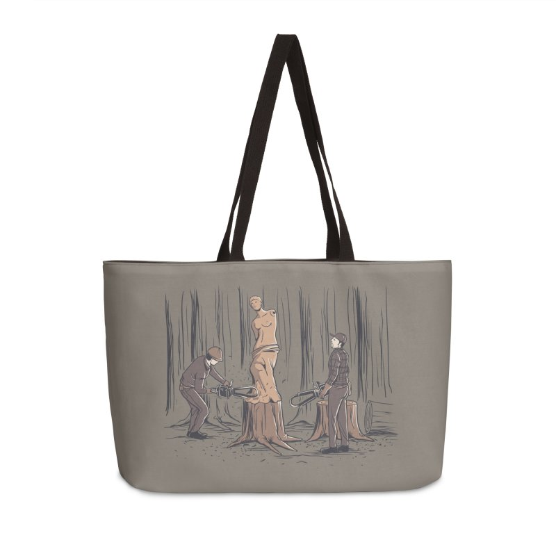 Masterpiece Accessories Weekender Bag Bag by Flying Mouse365