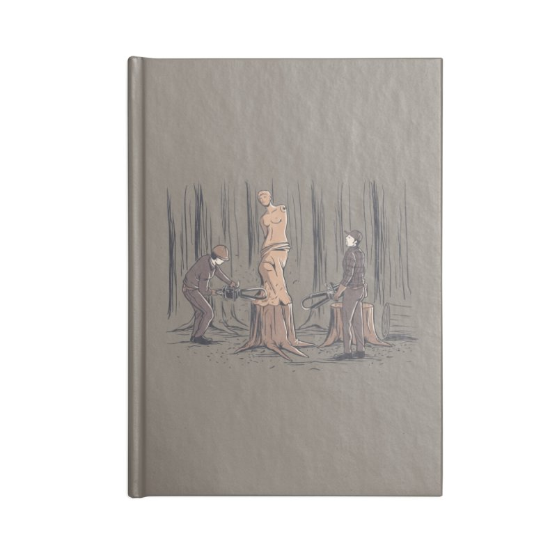 Masterpiece Accessories Blank Journal Notebook by Flying Mouse365