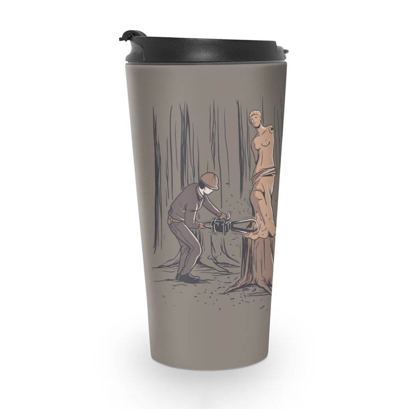 Masterpiece Accessories Travel Mug by Flying Mouse365