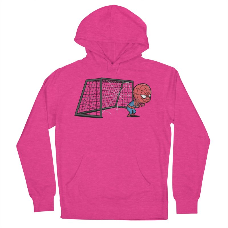 Sporty Spidey - Soccer Women's Pullover Hoody by Flying Mouse365