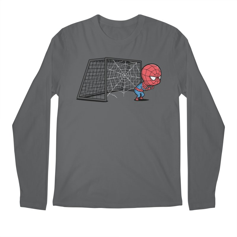 Sporty Buddy - Soccer Men's Longsleeve T-Shirt by Flying Mouse365