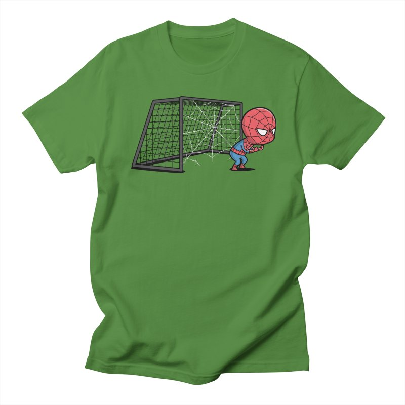 Sporty Spidey - Soccer Women's Unisex T-Shirt by Flying Mouse365