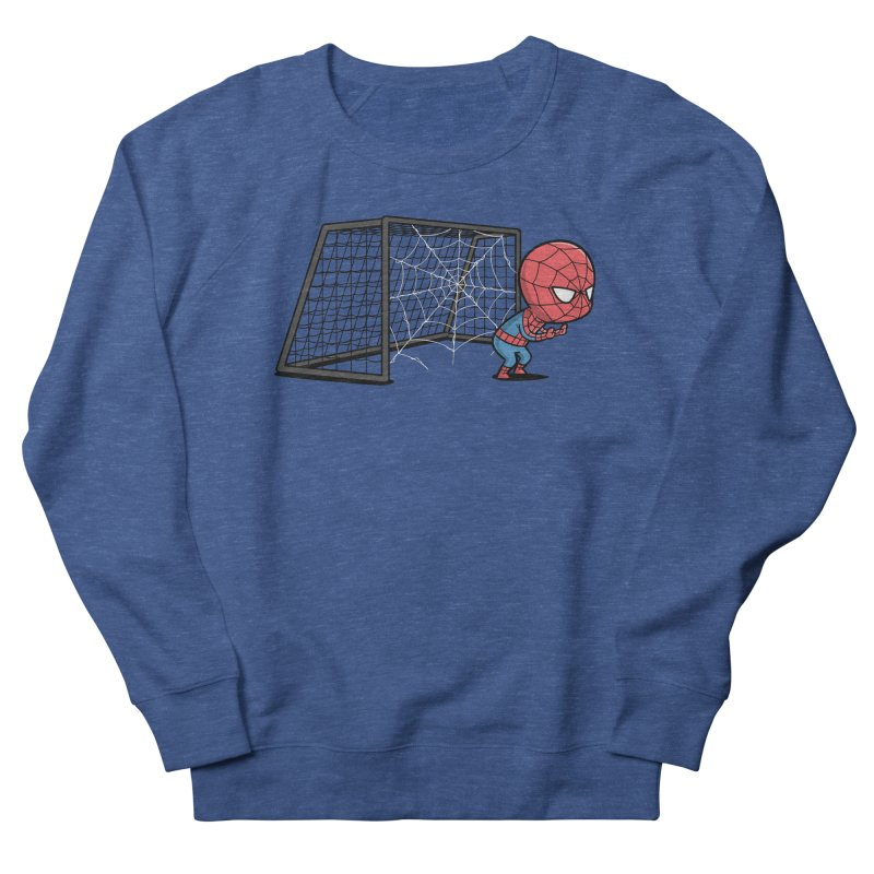 Sporty Spidey - Soccer Men's Sweatshirt by Flying Mouse365