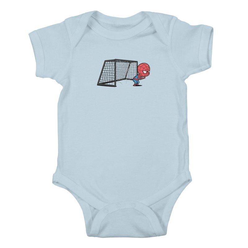 Sporty Buddy - Soccer Kids Baby Bodysuit by Flying Mouse365