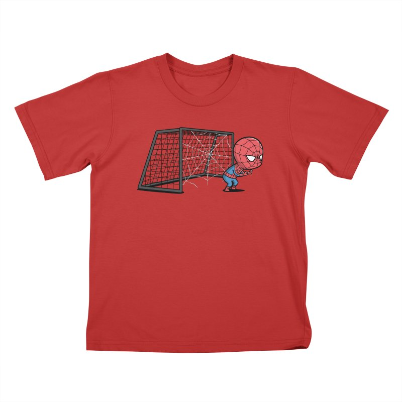 Sporty Buddy - Soccer Kids T-shirt by Flying Mouse365