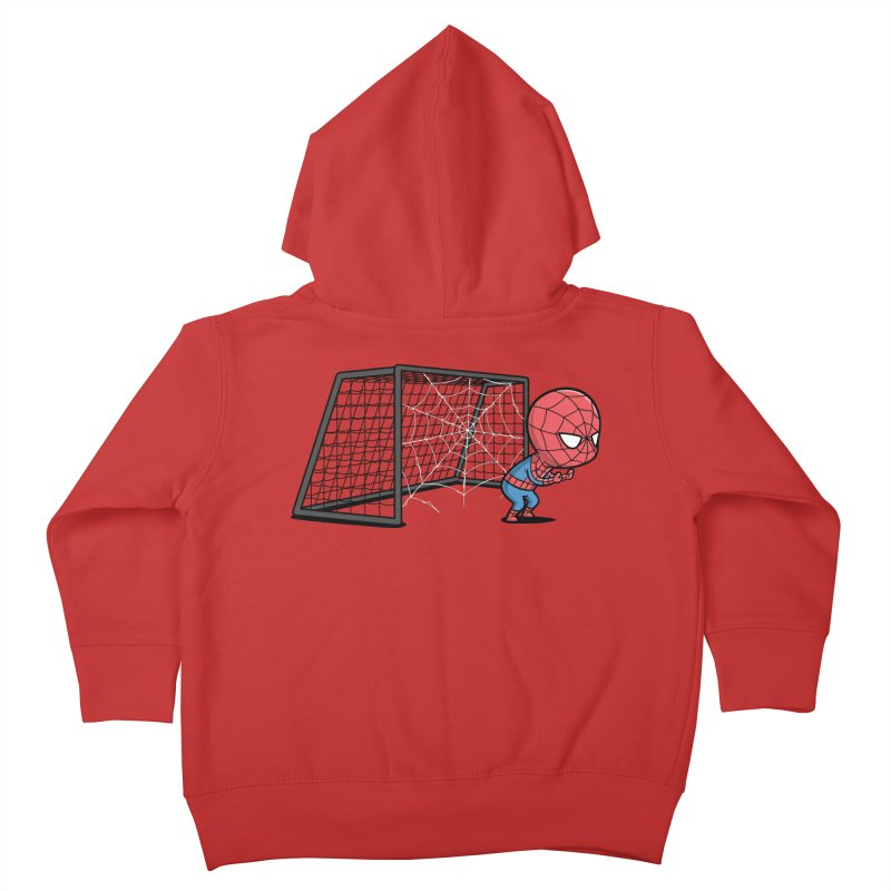 Sporty Buddy - Soccer Kids Toddler Zip-Up Hoody by Flying Mouse365