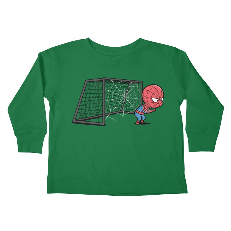 Sporty Buddy - Soccer Kids Toddler Longsleeve T-Shirt by Flying Mouse365