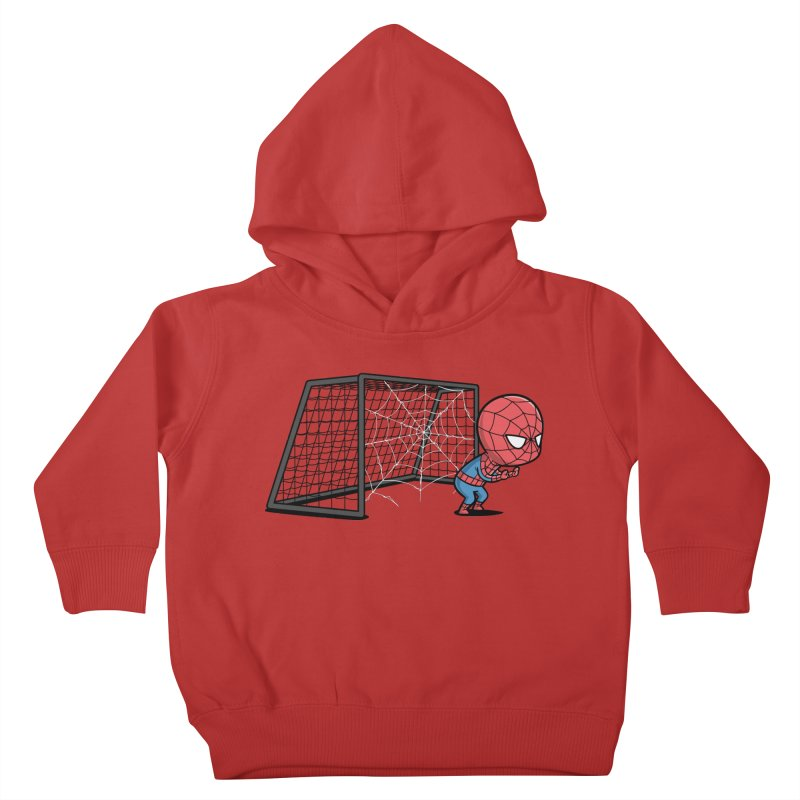 Sporty Buddy - Soccer Kids Toddler Pullover Hoody by Flying Mouse365