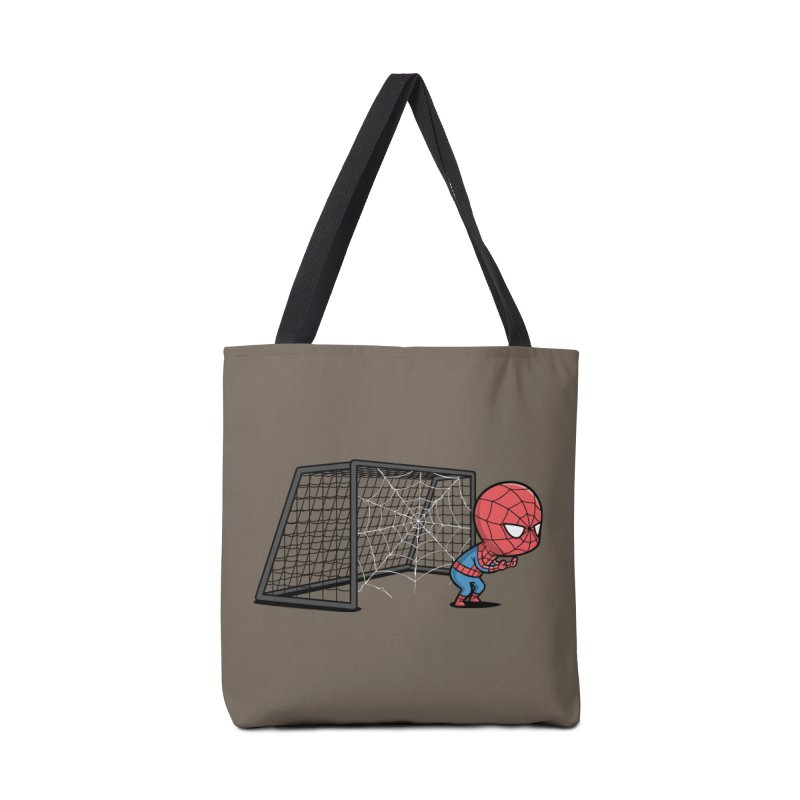 Sporty Spidey - Soccer Accessories Bag by Flying Mouse365