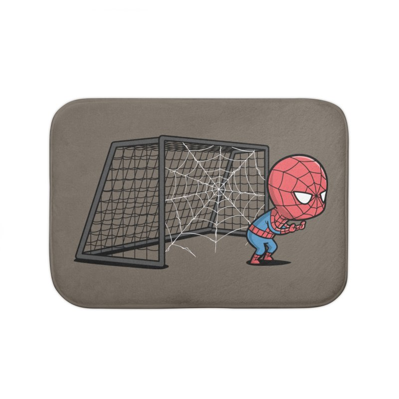 Sporty Buddy - Soccer Home Bath Mat by Flying Mouse365