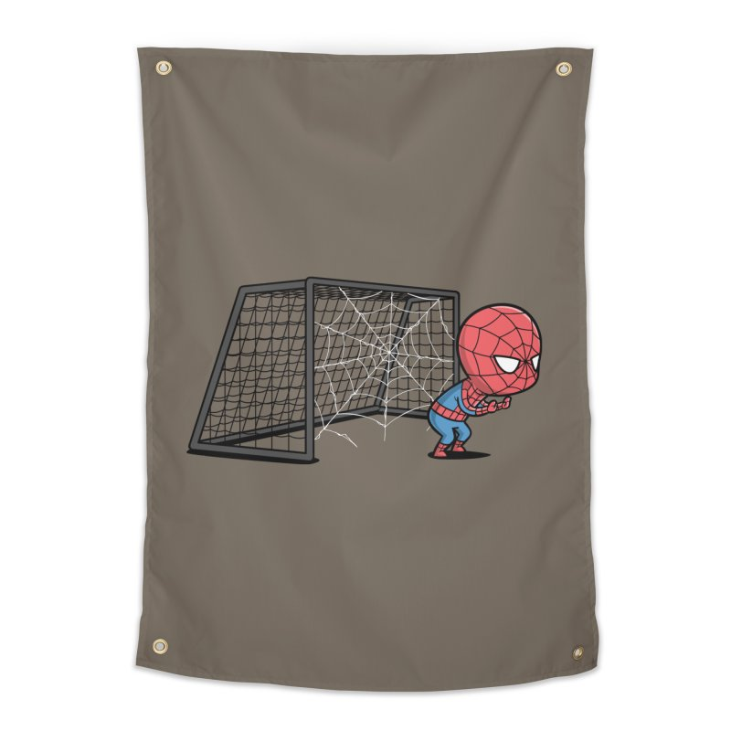 Sporty Buddy - Soccer Home Tapestry by Flying Mouse365