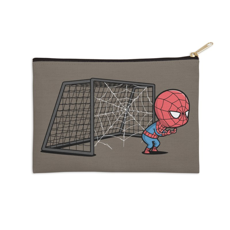 Sporty Buddy - Soccer Accessories Zip Pouch by Flying Mouse365
