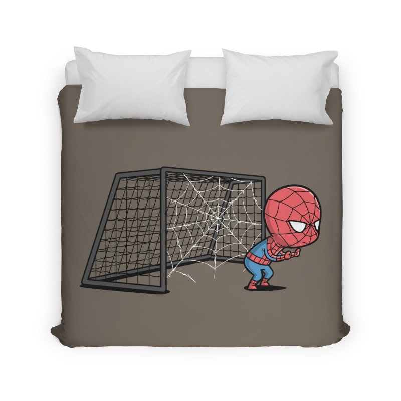 Sporty Buddy - Soccer Home Duvet by Flying Mouse365