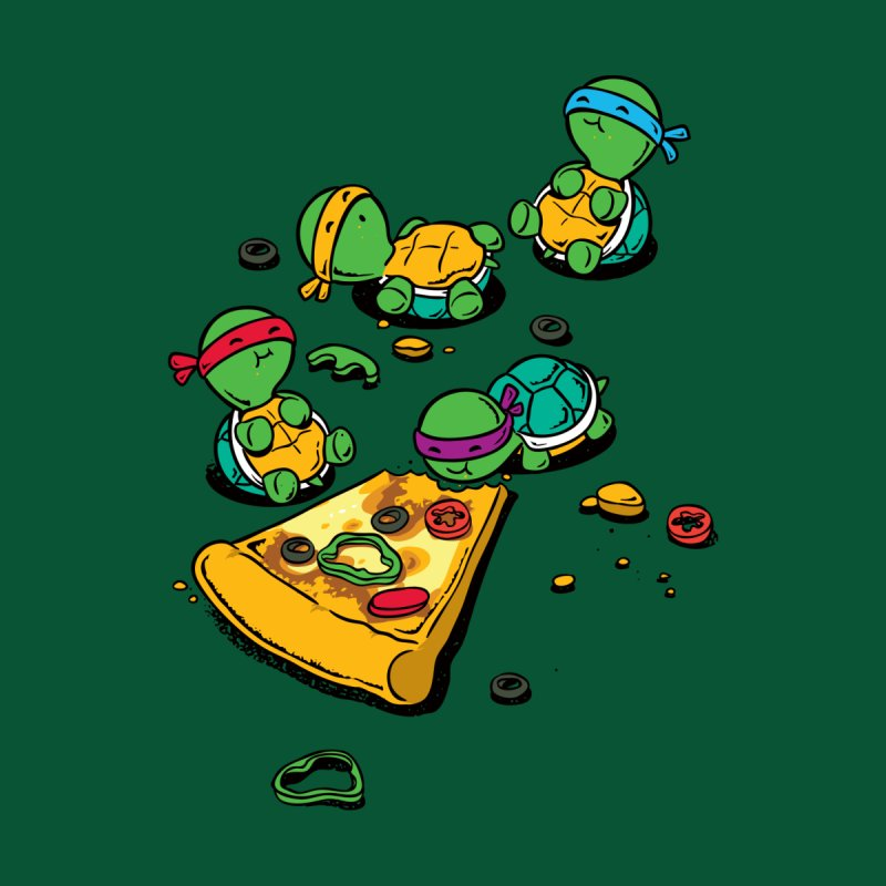Pizza Lover Kids Toddler T-Shirt by Flying Mouse365