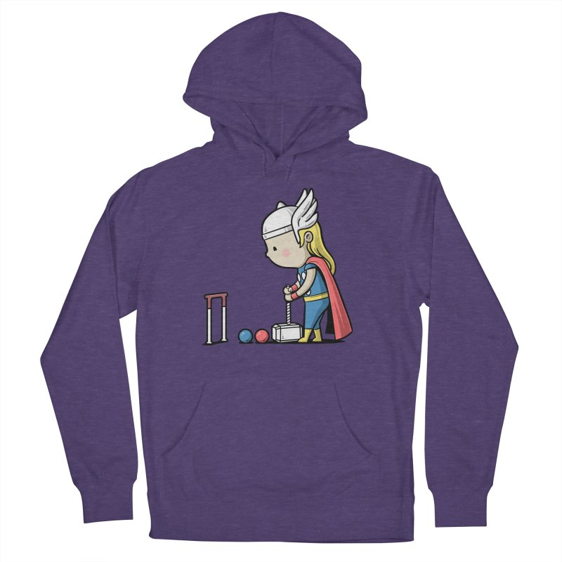 Sporty Buddy - Croquet Men's Pullover Hoody by Flying Mouse365
