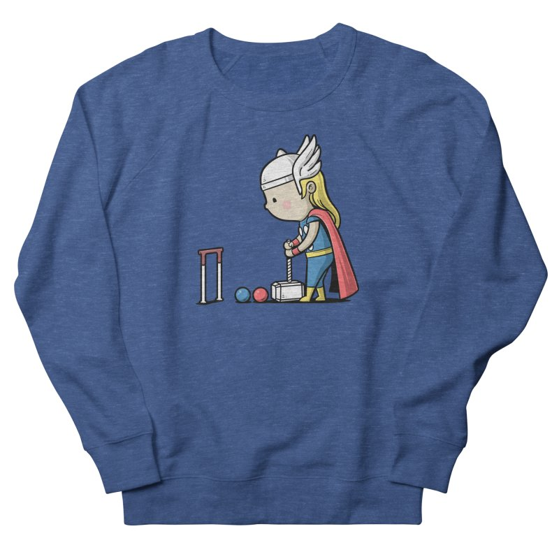 Sporty Buddy - Croquet Men's Sweatshirt by Flying Mouse365