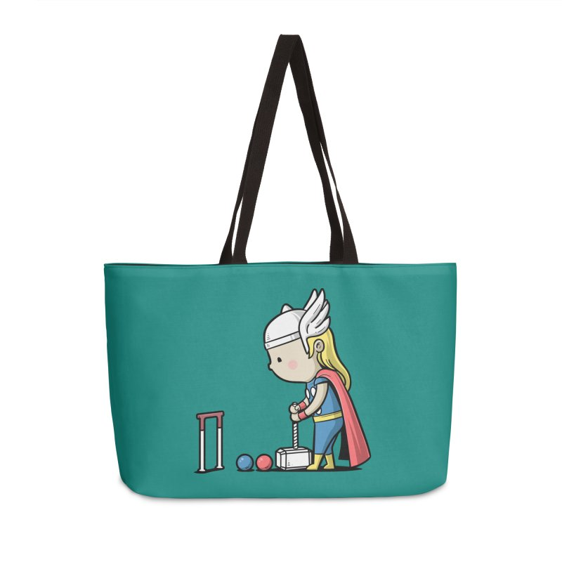 Sporty Buddy - Croquet Accessories Bag by Flying Mouse365