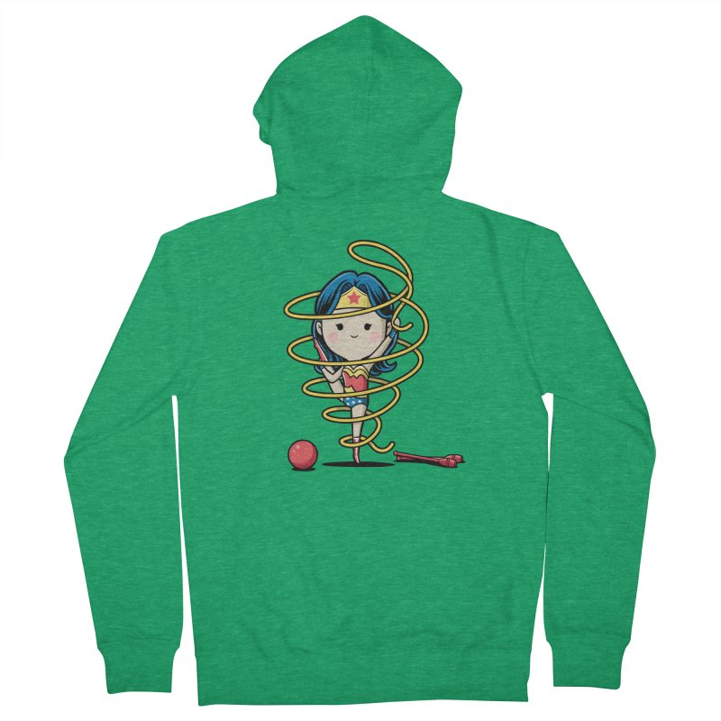 Spoty Buddy - Ribbon Women's Zip-Up Hoody by Flying Mouse365