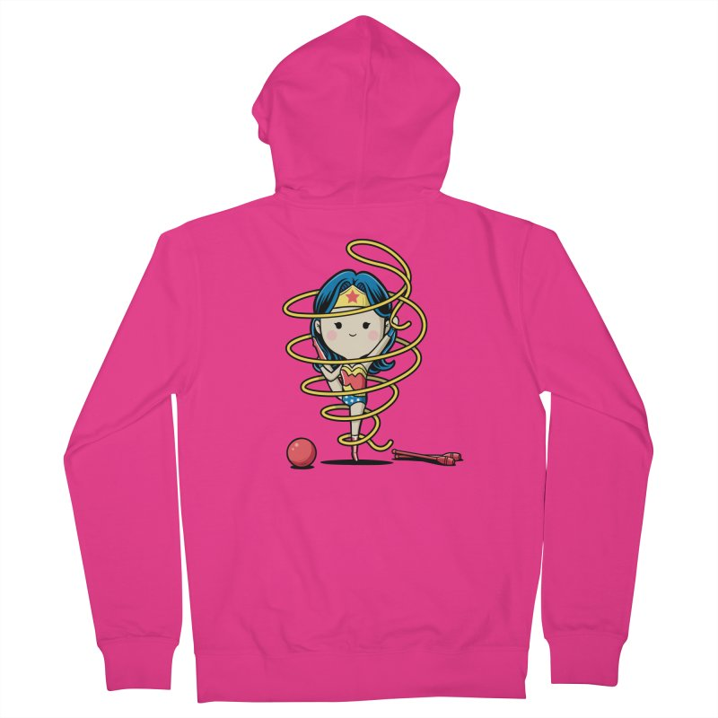 Spoty Buddy - Ribbon Men's Zip-Up Hoody by Flying Mouse365
