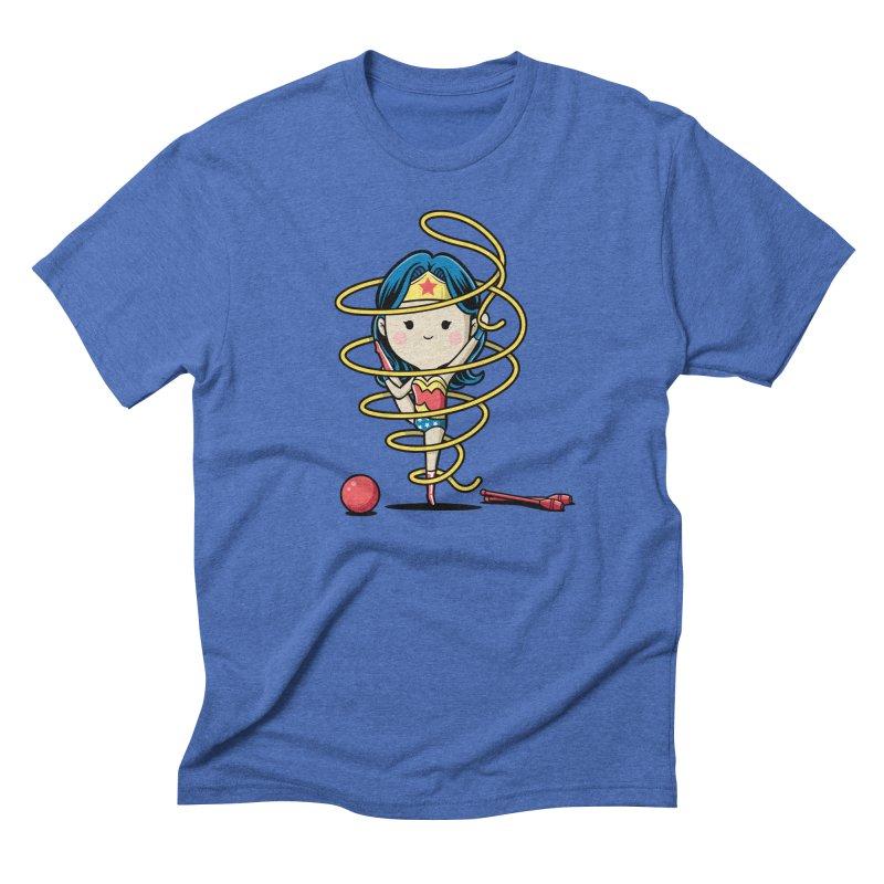 Spoty Buddy - Ribbon Men's T-Shirt by Flying Mouse365