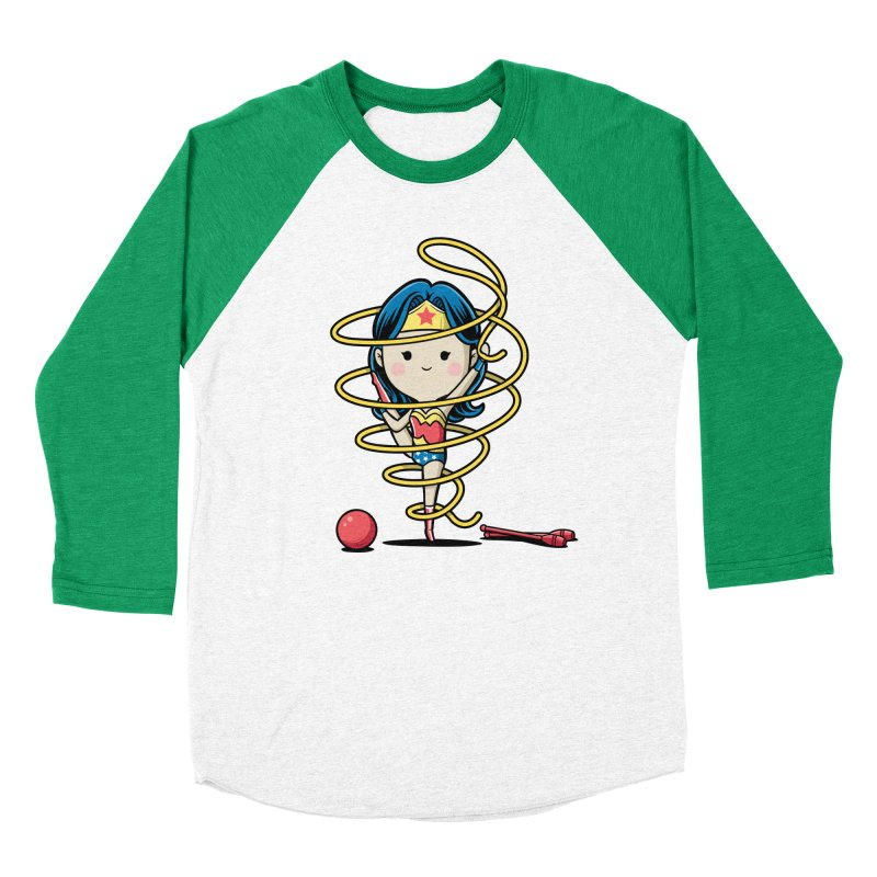 Spoty Buddy - Ribbon Women's Baseball Triblend T-Shirt by Flying Mouse365