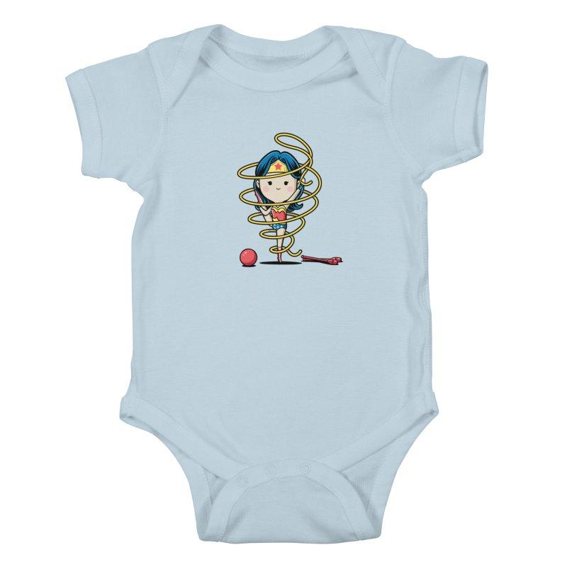Spoty Buddy - Ribbon Kids Baby Bodysuit by Flying Mouse365