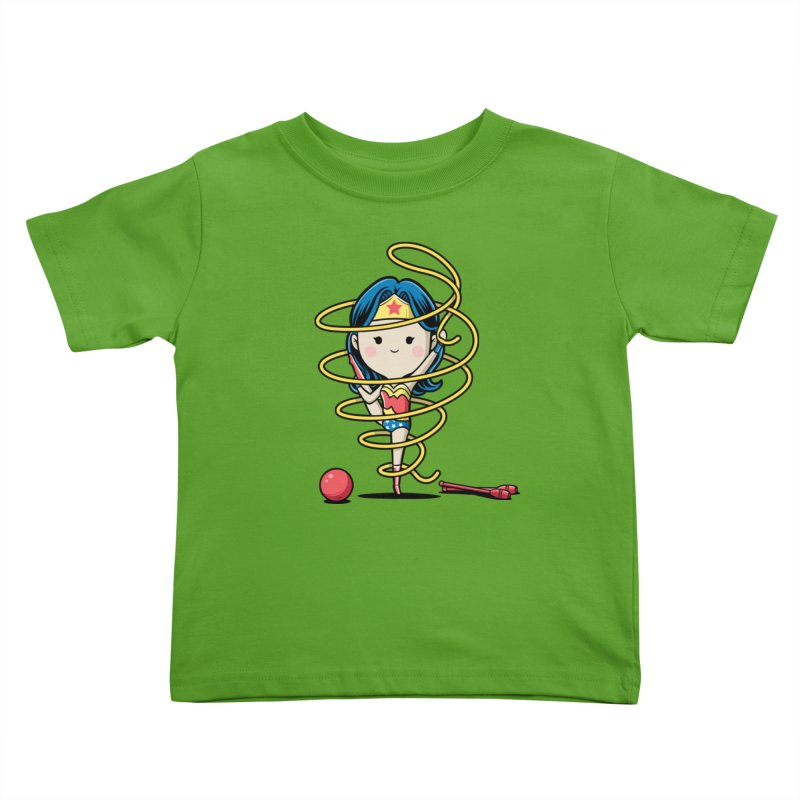 Spoty Buddy - Ribbon Kids Toddler T-Shirt by Flying Mouse365
