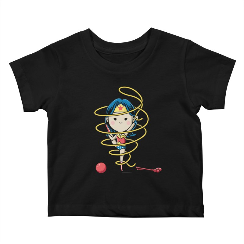Spoty Buddy - Ribbon Kids Baby T-Shirt by Flying Mouse365