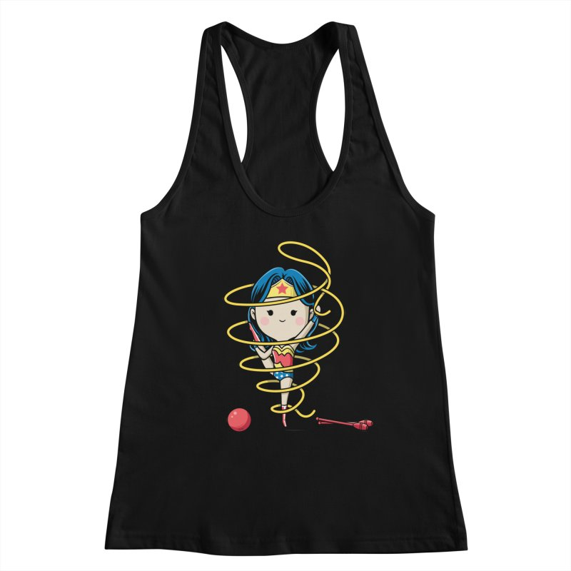 Spoty Buddy - Ribbon Women's Tank by Flying Mouse365