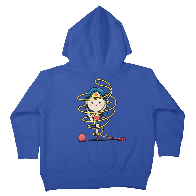 Spoty Buddy - Ribbon Kids Toddler Zip-Up Hoody by Flying Mouse365