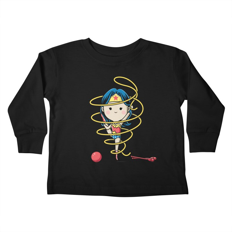 Spoty Buddy - Ribbon Kids Toddler Longsleeve T-Shirt by Flying Mouse365