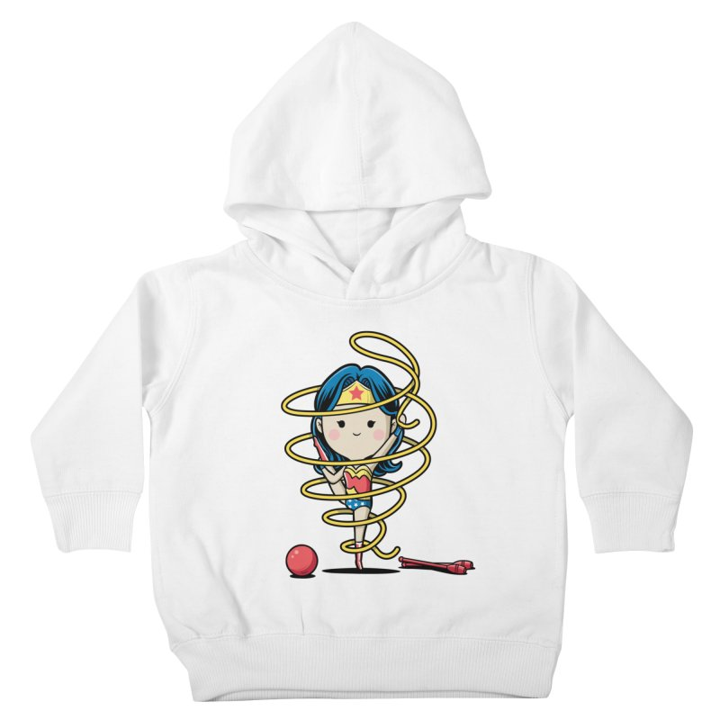 Spoty Buddy - Ribbon Kids Toddler Pullover Hoody by Flying Mouse365