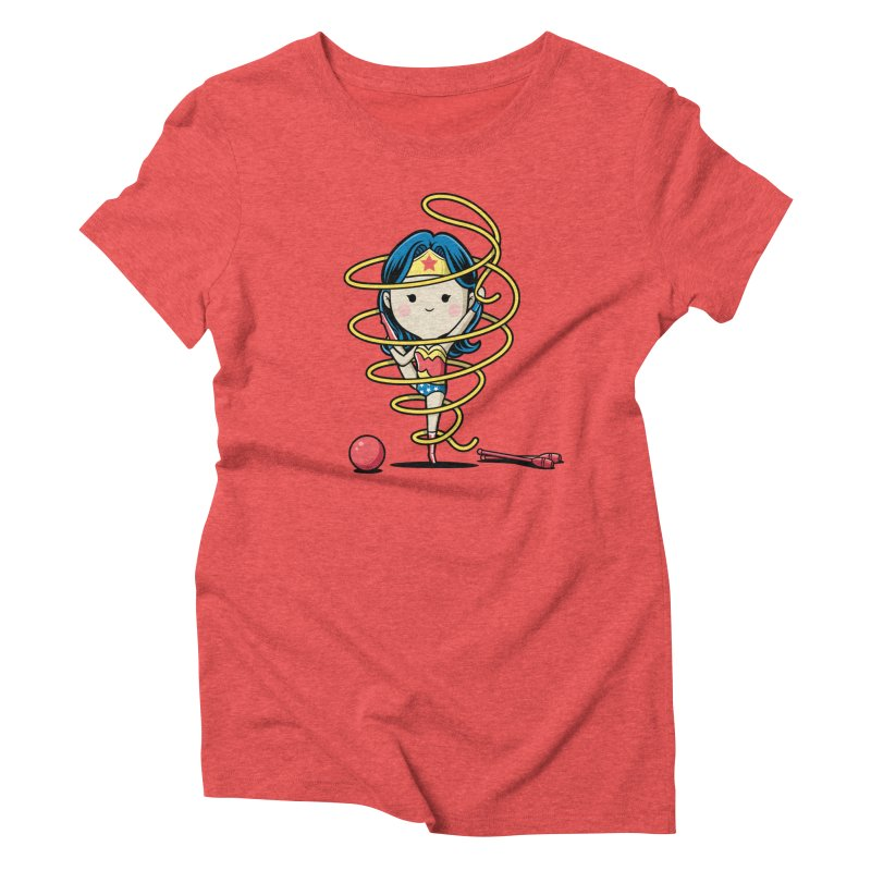 Spoty Buddy - Ribbon Women's Triblend T-shirt by Flying Mouse365