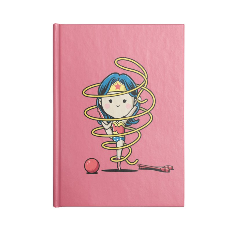 Spoty Buddy - Ribbon Accessories Notebook by Flying Mouse365