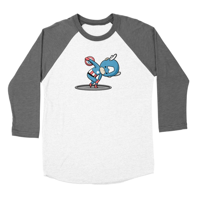 Sporty Buddy - Discus Throw Women's Longsleeve T-Shirt by Flying Mouse365