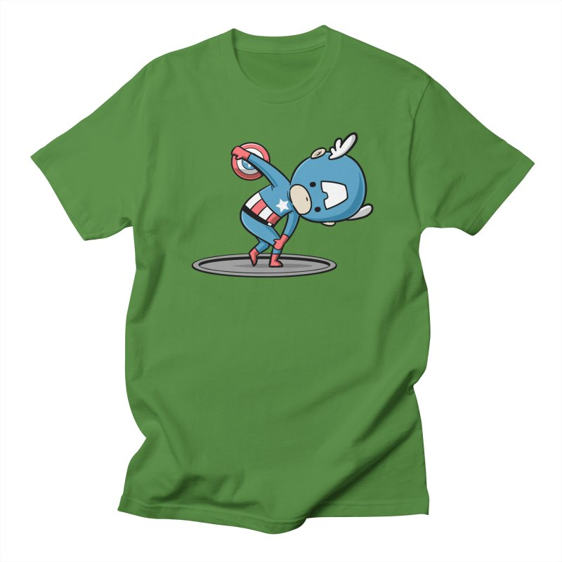 Sporty Buddy - Discus Throw Women's Unisex T-Shirt by Flying Mouse365