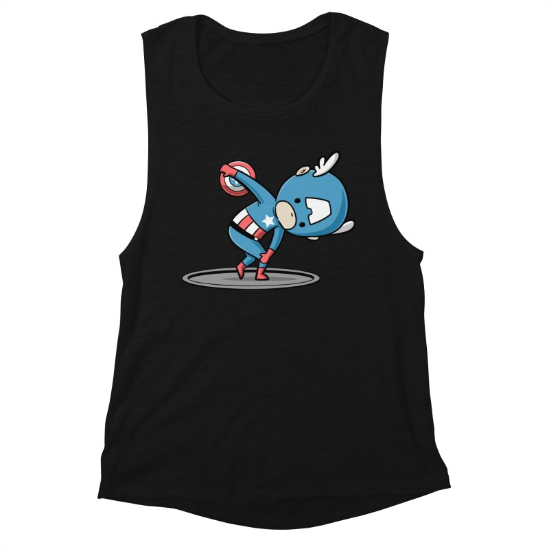 Sporty Buddy - Discus Throw Women's Tank by Flying Mouse365